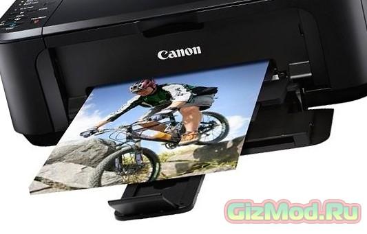 МФУ Canon с поддержкой печати из социальных сетей