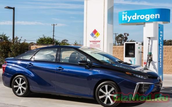 Гибрид Toyota Mirai едет за пределы Японии