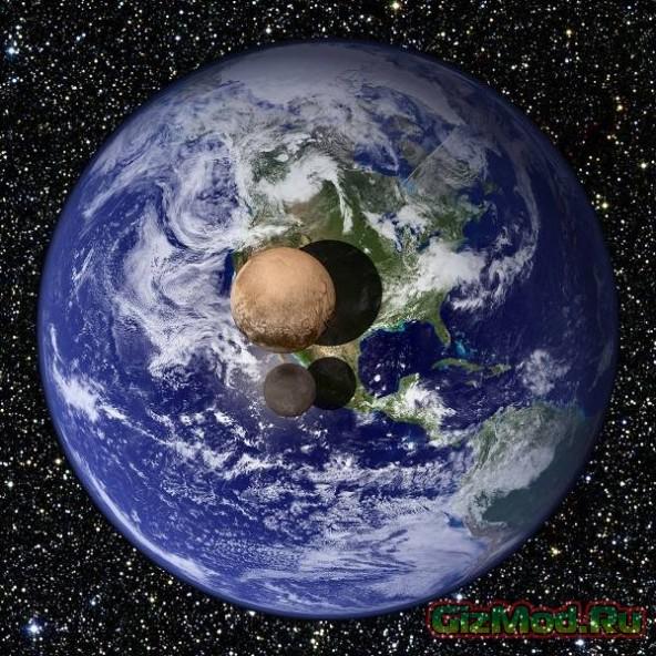 """""""Привет"""" от станции New Horizons с орбиты Плутона"""