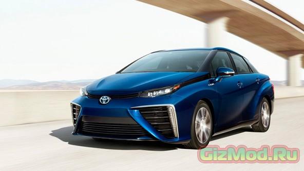 Автомобиль на водородных топливных элементах