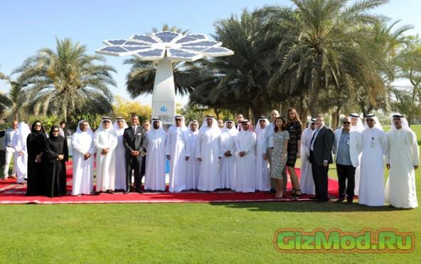 Солнечные Wi-Fi-деревья появились в Дубае