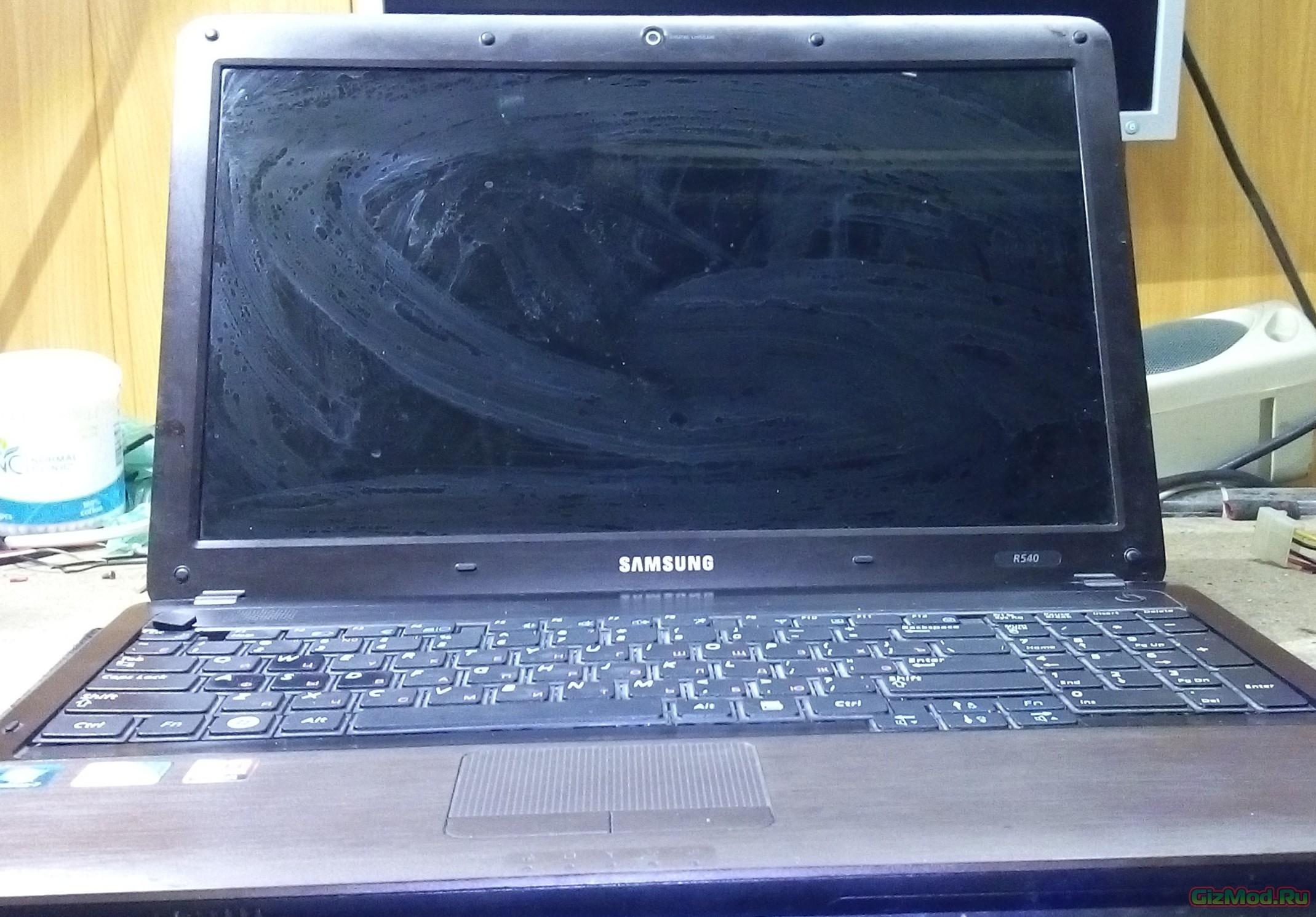 Инструкция по разборке ноутбук samsung