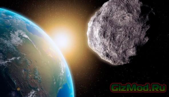 Астероид с запасом драгоценным металлов