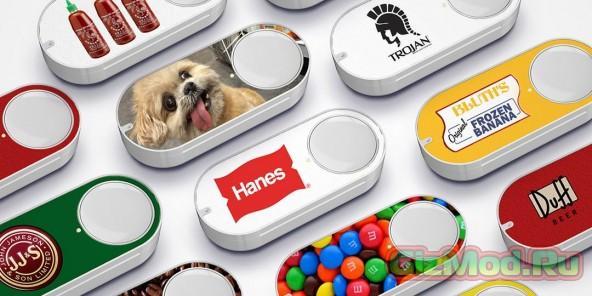 Кнопки Amazon Dash Buttons вполне себе реальны