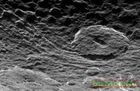 Новое фото Дионы — спутника Сатурна
