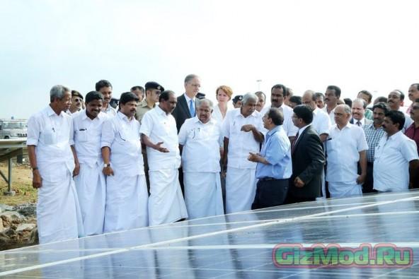 Аэропорт на солнечной энергии