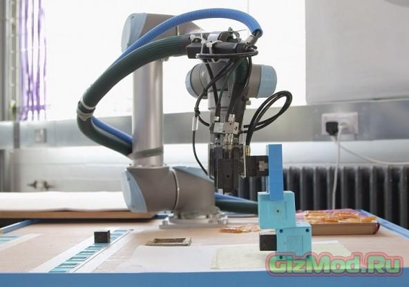 Робот делающий и совершенствующий роботов