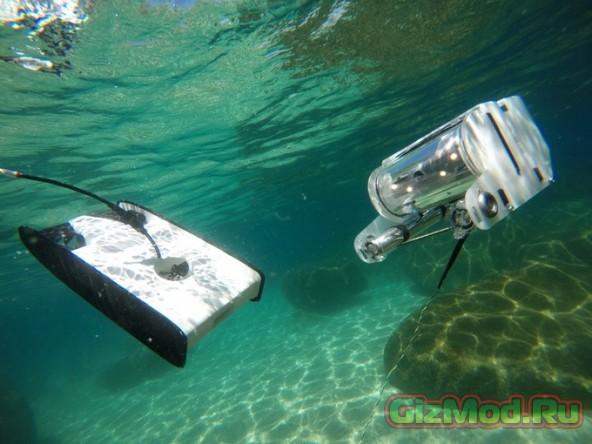 Подводный дрон OpenROV Trident