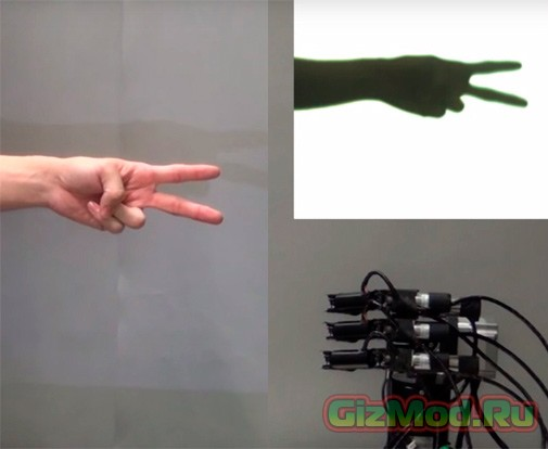 «Камень, ножницы, бумага» с роботом