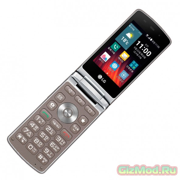 Смартфон-«раскладушка» LG Wine Smart Jazz