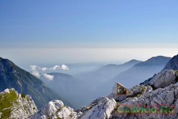 Новое убежище для альпинистов