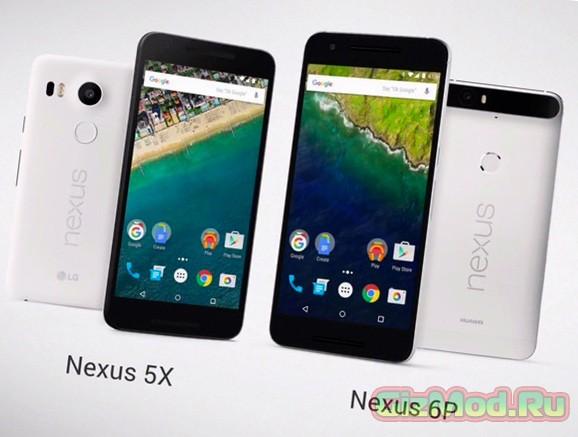 Новые смартфоны Google: Nexus 5X и Nexus 6P