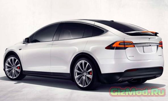 Электромобиль Model X от Tesla Motors