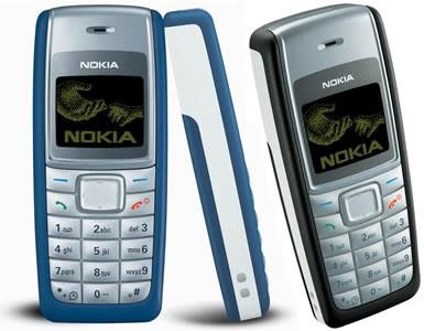 Самым популярным в мире телефоном признан Nokia 1100
