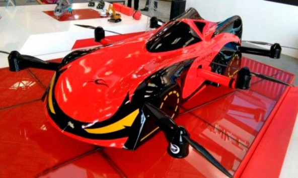 Летающий робомобиль