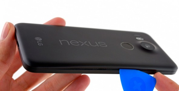 Препарирование смартфона Nexus 5X