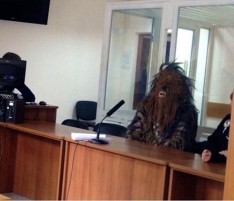 В Одессе арестовали Чубакку