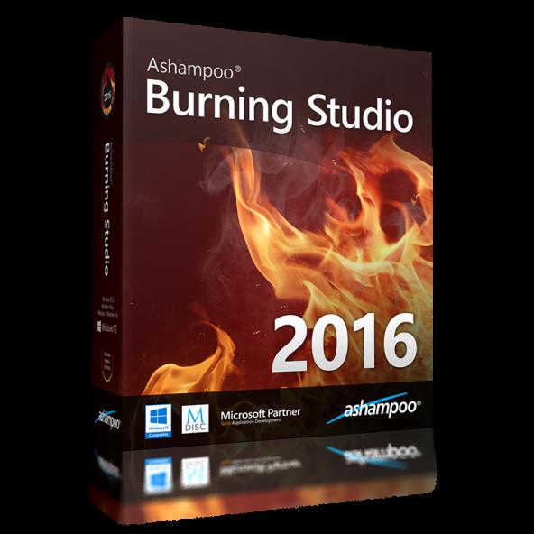 Ashampoo Burning Studio 16.0.0.17 Free - бесплатный пакет для записи дисков