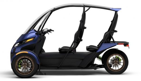 Arcimoto SRK — гибрид мотоцикла и машины