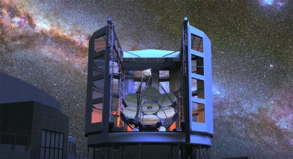Гигантский Магелланов телескоп обретает жизнь