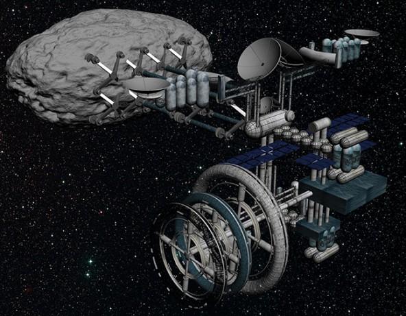 Добыча ископаемых в космосе теперь регламентируется законом