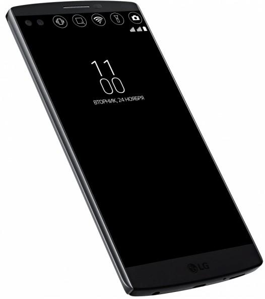 LG V10 прибыл в Россию