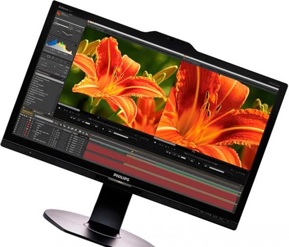 Монитор  Philips с разрешением 4К/Ultra HD