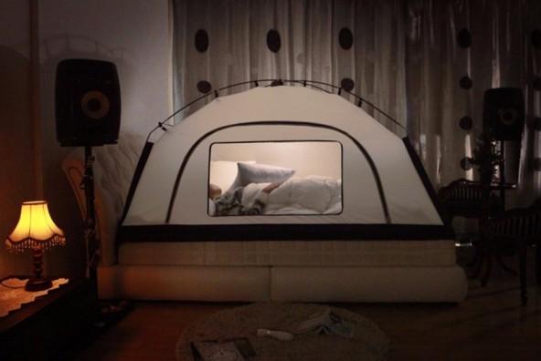 Теплая палатки для холодных ночей