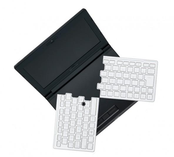 Ноутбук со складной клавиатурой от японской компании King Jim