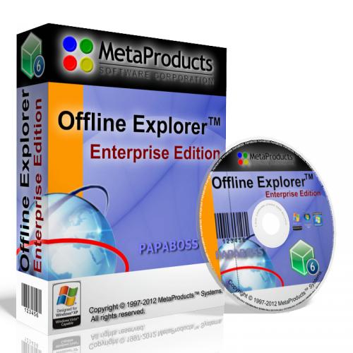 Offline Explorer 7.0.0.4407 - точная копия сайта