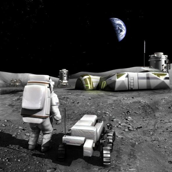 ESA готовится к высадке на Луну