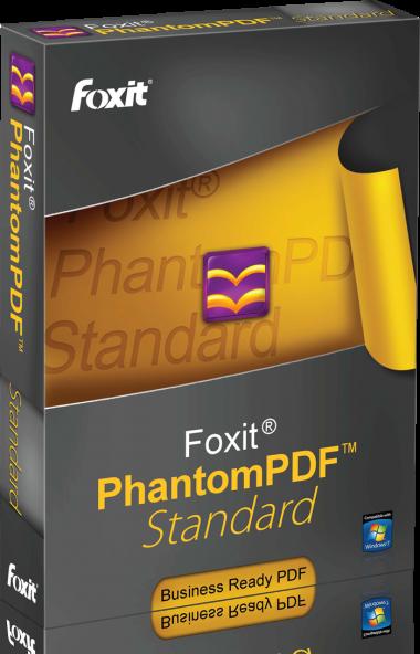 Foxit PhantomPDF 7.3.0.0118 - полноценная работа с PDF
