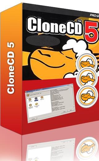 CloneCD 5.3.2.1 - создает точную копию диска
