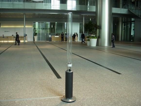Дизайнерская беспроводная колонка Sony Glass Sound Speaker