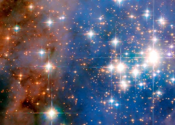 Фото от NASA: большое скопление звезд