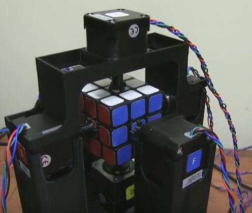 Миссия выполнима: собрать кубик Рубика за 1,047 с