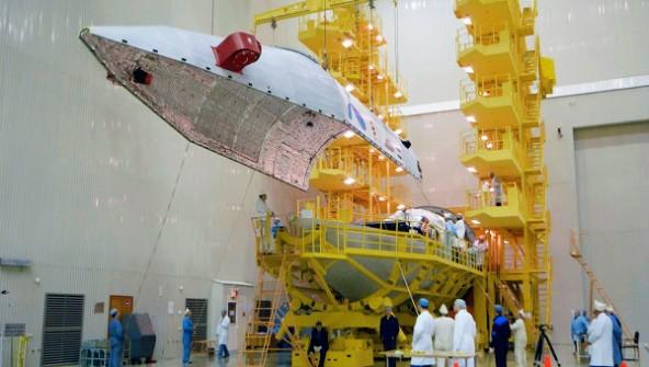 Заработал новый спутник «Экспресс-АМУ1»