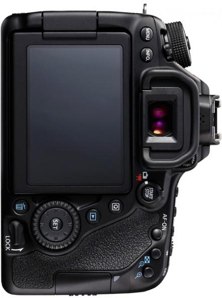 Новая зеркальная камера Canon EOS 80D