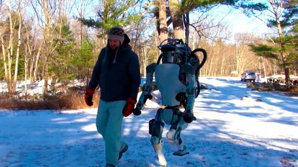 Новая версия человекоподобного робота Atlas