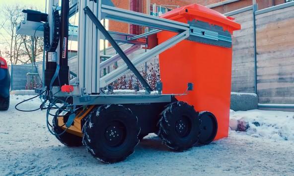 Тестирование роботов-мусоросборщиков