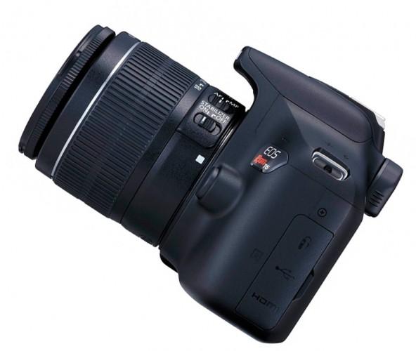 Новая модель зеркальной камеры начального уровня от Canon