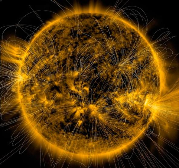 Магнитные поля на Солнце