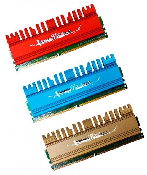 Цветные модули оперативной памяти от Kingmax
