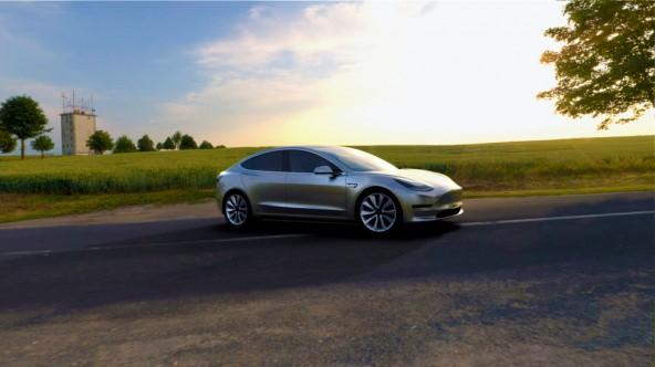 Представлен бюджетный электромобиль Tesla