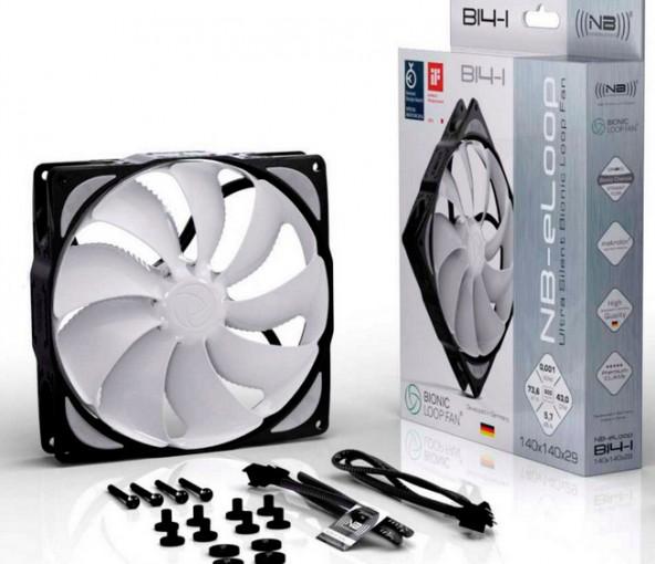 140-мм вентилятор Noiseblocker NB-eLoop с ШИМ-управлением