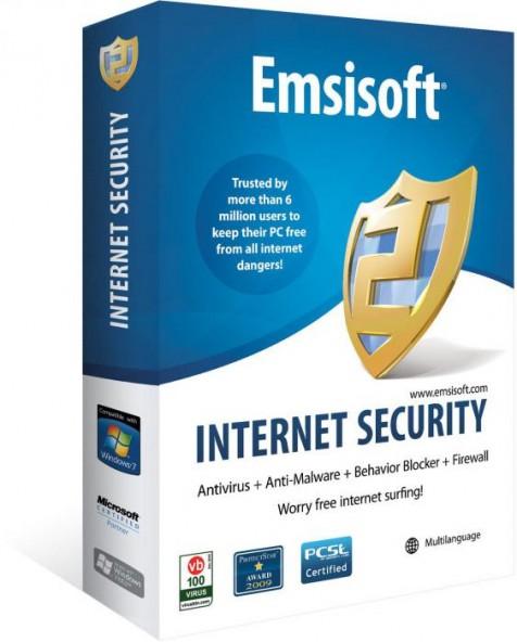 Emsisoft Internet Security 11.6.0.6267 - отлично удаляет червей и трояны