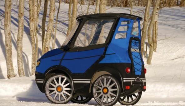 PodRide - крошка автомобиль