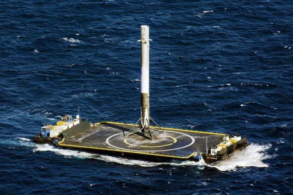 Удачный запуск Falcon 9