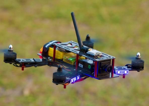 Российские гонки дронов