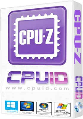 CPU-Z 1.76 - расскажет о процесссоре все!